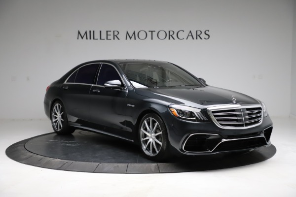 Used 2019 Mercedes-Benz S-Class AMG S 63 for sale $122,900 at Rolls-Royce Motor Cars Greenwich in Greenwich CT 06830 19