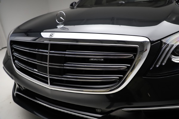 Used 2019 Mercedes-Benz S-Class AMG S 63 for sale $122,900 at Rolls-Royce Motor Cars Greenwich in Greenwich CT 06830 23