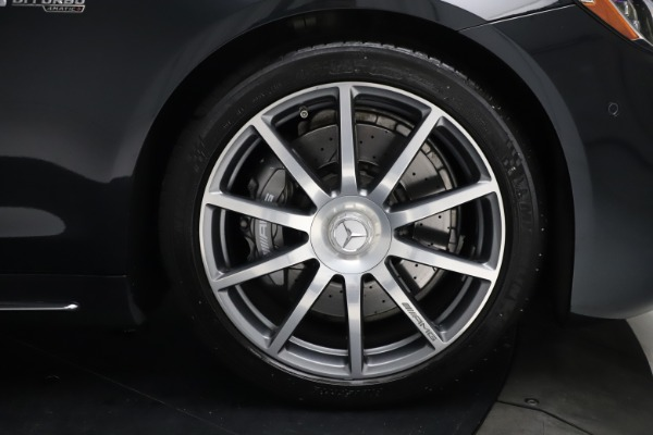 Used 2019 Mercedes-Benz S-Class AMG S 63 for sale $122,900 at Rolls-Royce Motor Cars Greenwich in Greenwich CT 06830 26