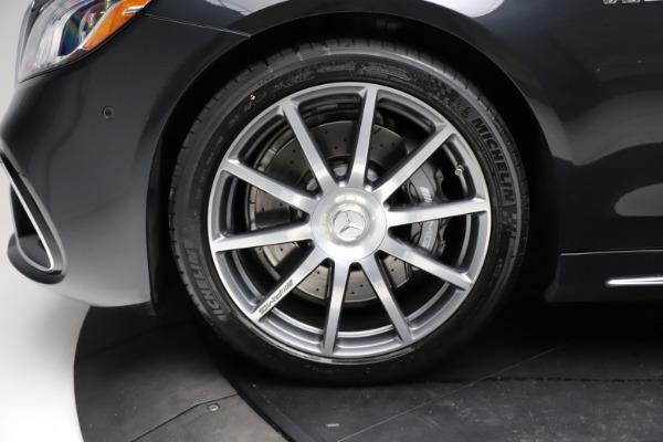 Used 2019 Mercedes-Benz S-Class AMG S 63 for sale $122,900 at Rolls-Royce Motor Cars Greenwich in Greenwich CT 06830 27
