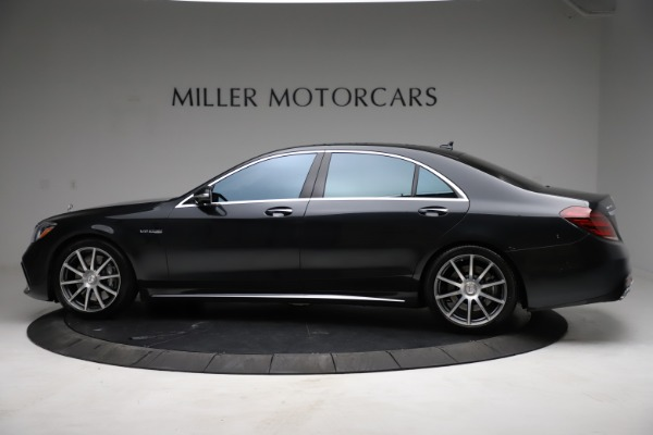 Used 2019 Mercedes-Benz S-Class AMG S 63 for sale $122,900 at Rolls-Royce Motor Cars Greenwich in Greenwich CT 06830 5