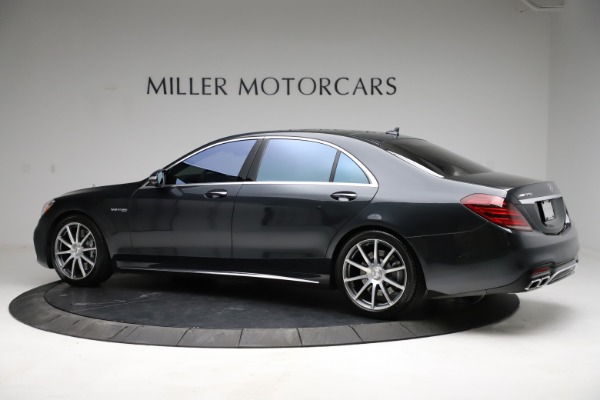 Used 2019 Mercedes-Benz S-Class AMG S 63 for sale $122,900 at Rolls-Royce Motor Cars Greenwich in Greenwich CT 06830 6