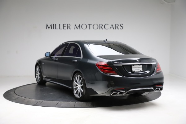 Used 2019 Mercedes-Benz S-Class AMG S 63 for sale $122,900 at Rolls-Royce Motor Cars Greenwich in Greenwich CT 06830 8