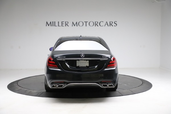 Used 2019 Mercedes-Benz S-Class AMG S 63 for sale $122,900 at Rolls-Royce Motor Cars Greenwich in Greenwich CT 06830 9