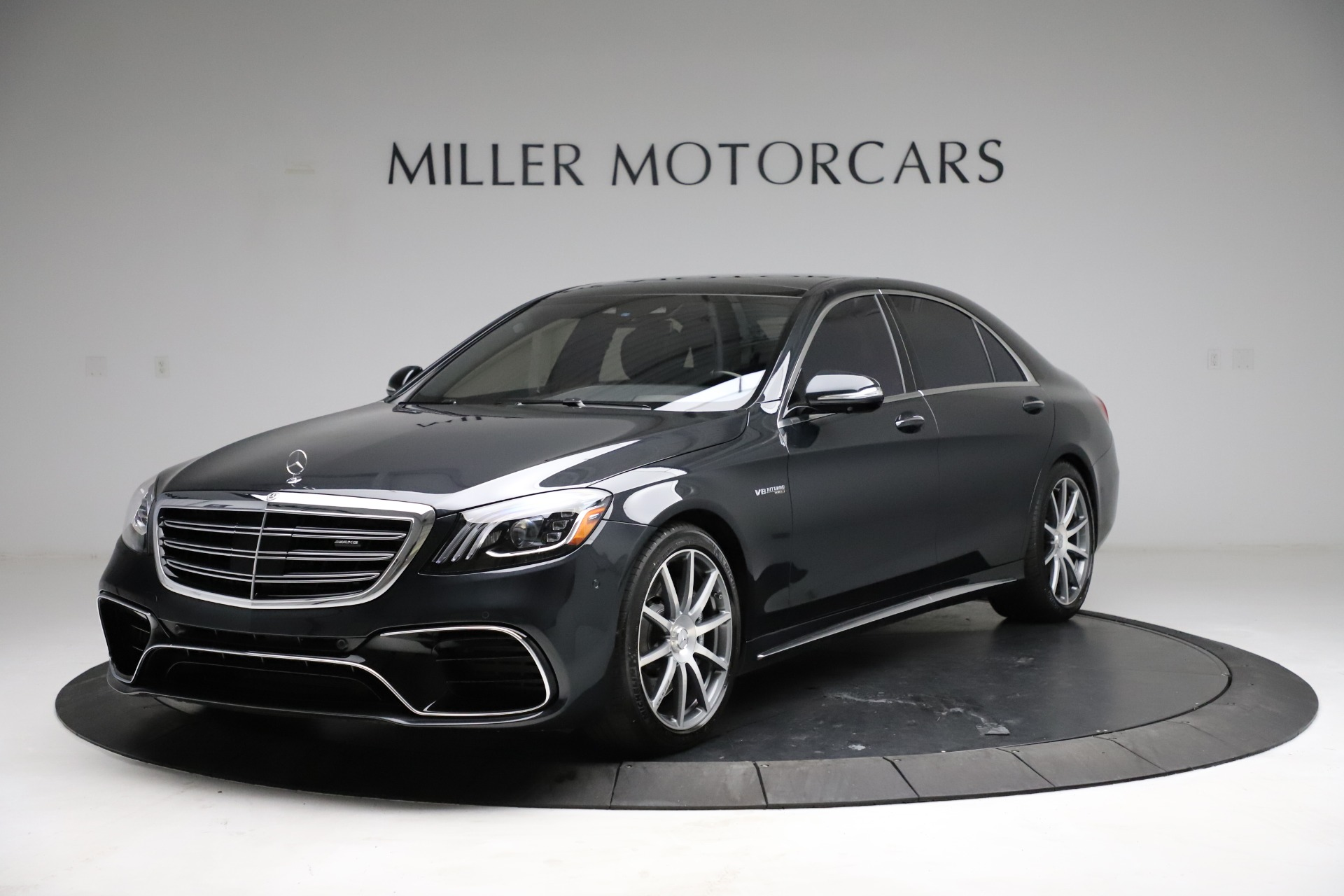 Used 2019 Mercedes-Benz S-Class AMG S 63 for sale $122,900 at Rolls-Royce Motor Cars Greenwich in Greenwich CT 06830 1