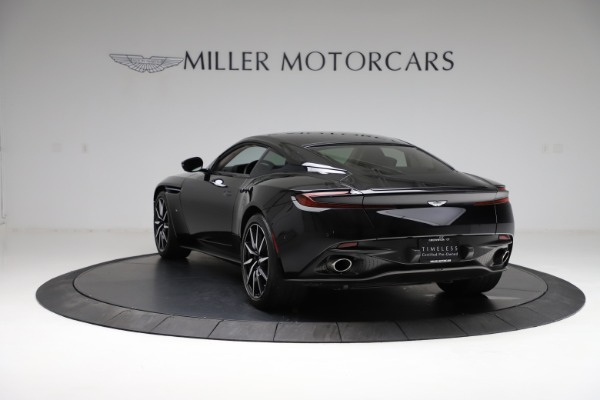 Used 2018 Aston Martin DB11 V12 for sale $159,990 at Rolls-Royce Motor Cars Greenwich in Greenwich CT 06830 4