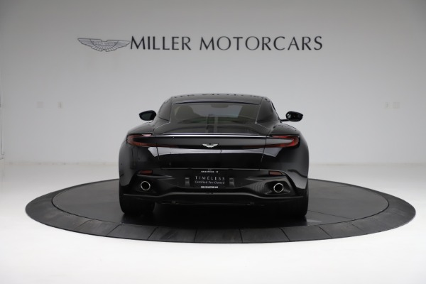 Used 2018 Aston Martin DB11 V12 for sale $159,990 at Rolls-Royce Motor Cars Greenwich in Greenwich CT 06830 5
