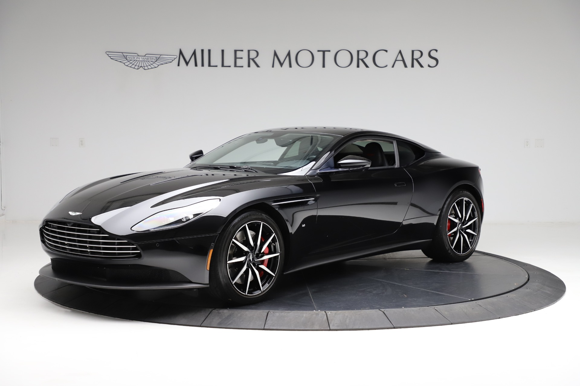 Used 2018 Aston Martin DB11 V12 for sale $159,990 at Rolls-Royce Motor Cars Greenwich in Greenwich CT 06830 1