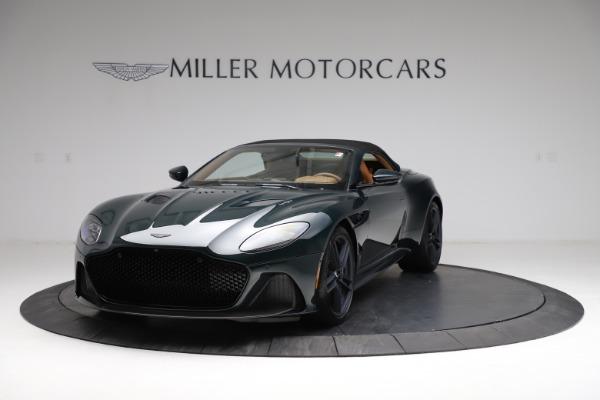 New 2021 Aston Martin DBS Superleggera Volante for sale $392,916 at Rolls-Royce Motor Cars Greenwich in Greenwich CT 06830 12