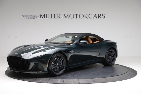 New 2021 Aston Martin DBS Superleggera Volante for sale $392,916 at Rolls-Royce Motor Cars Greenwich in Greenwich CT 06830 13