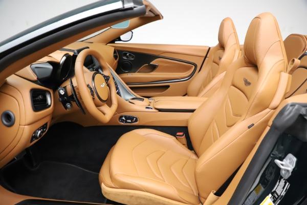 New 2021 Aston Martin DBS Superleggera Volante for sale $392,916 at Rolls-Royce Motor Cars Greenwich in Greenwich CT 06830 18