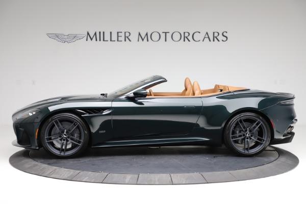 New 2021 Aston Martin DBS Superleggera Volante for sale $392,916 at Rolls-Royce Motor Cars Greenwich in Greenwich CT 06830 2