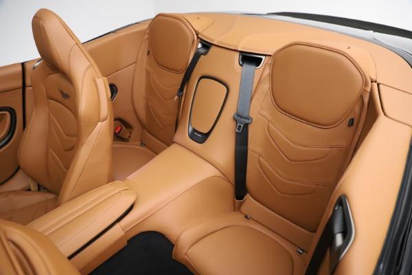 New 2021 Aston Martin DBS Superleggera Volante for sale $392,916 at Rolls-Royce Motor Cars Greenwich in Greenwich CT 06830 21