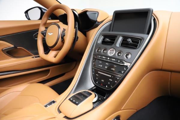 New 2021 Aston Martin DBS Superleggera Volante for sale $392,916 at Rolls-Royce Motor Cars Greenwich in Greenwich CT 06830 23
