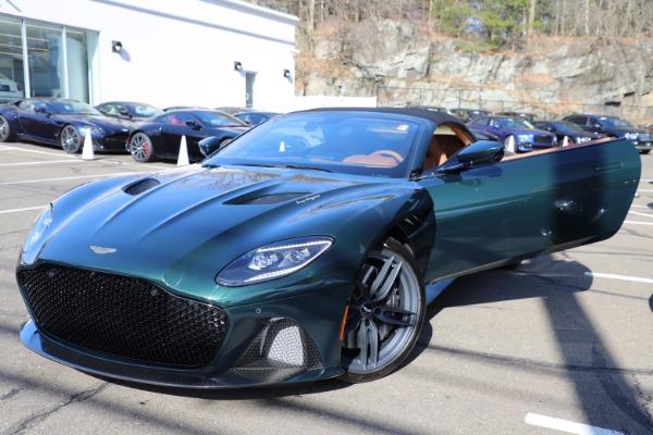 New 2021 Aston Martin DBS Superleggera Volante for sale $392,916 at Rolls-Royce Motor Cars Greenwich in Greenwich CT 06830 26