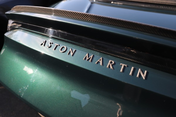New 2021 Aston Martin DBS Superleggera Volante for sale $392,916 at Rolls-Royce Motor Cars Greenwich in Greenwich CT 06830 28