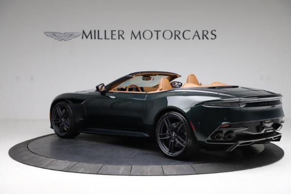 New 2021 Aston Martin DBS Superleggera Volante for sale $392,916 at Rolls-Royce Motor Cars Greenwich in Greenwich CT 06830 3