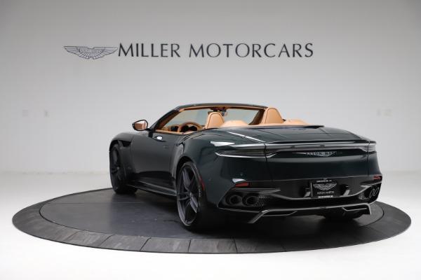 New 2021 Aston Martin DBS Superleggera Volante for sale $392,916 at Rolls-Royce Motor Cars Greenwich in Greenwich CT 06830 4