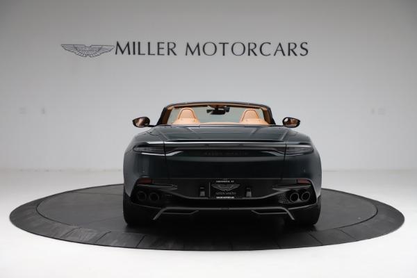 New 2021 Aston Martin DBS Superleggera Volante for sale $392,916 at Rolls-Royce Motor Cars Greenwich in Greenwich CT 06830 5
