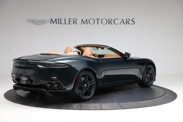 New 2021 Aston Martin DBS Superleggera Volante for sale $392,916 at Rolls-Royce Motor Cars Greenwich in Greenwich CT 06830 7