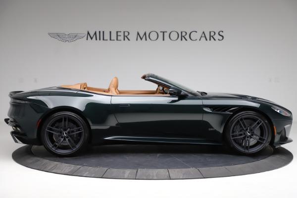 New 2021 Aston Martin DBS Superleggera Volante for sale $392,916 at Rolls-Royce Motor Cars Greenwich in Greenwich CT 06830 8