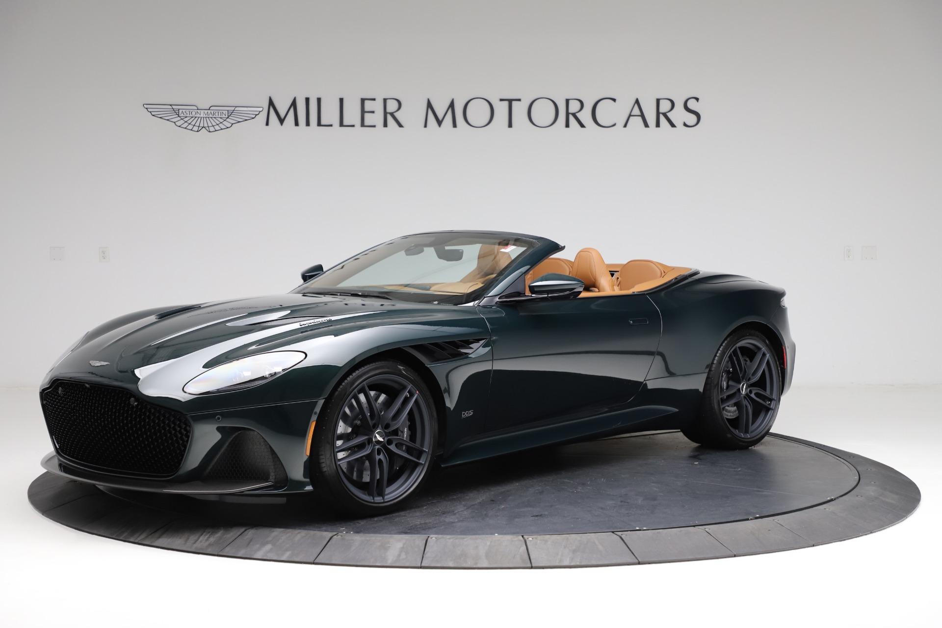 New 2021 Aston Martin DBS Superleggera Volante for sale $392,916 at Rolls-Royce Motor Cars Greenwich in Greenwich CT 06830 1