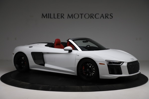 Used 2018 Audi R8 Spyder for sale $154,900 at Rolls-Royce Motor Cars Greenwich in Greenwich CT 06830 10