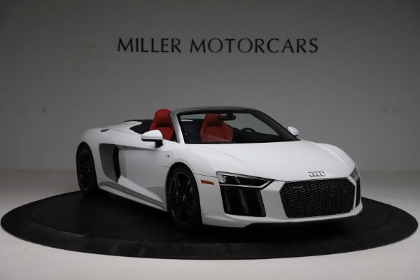Used 2018 Audi R8 Spyder for sale $154,900 at Rolls-Royce Motor Cars Greenwich in Greenwich CT 06830 11