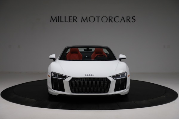 Used 2018 Audi R8 Spyder for sale $154,900 at Rolls-Royce Motor Cars Greenwich in Greenwich CT 06830 12