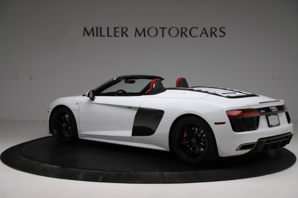 Used 2018 Audi R8 Spyder for sale $154,900 at Rolls-Royce Motor Cars Greenwich in Greenwich CT 06830 4