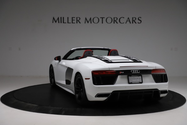 Used 2018 Audi R8 Spyder for sale $154,900 at Rolls-Royce Motor Cars Greenwich in Greenwich CT 06830 5