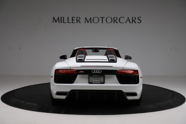 Used 2018 Audi R8 Spyder for sale $154,900 at Rolls-Royce Motor Cars Greenwich in Greenwich CT 06830 6