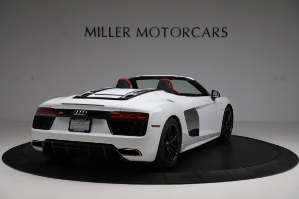 Used 2018 Audi R8 Spyder for sale $154,900 at Rolls-Royce Motor Cars Greenwich in Greenwich CT 06830 7