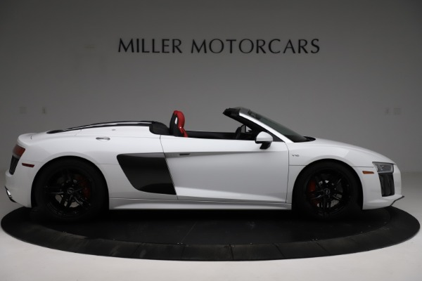 Used 2018 Audi R8 Spyder for sale $154,900 at Rolls-Royce Motor Cars Greenwich in Greenwich CT 06830 9
