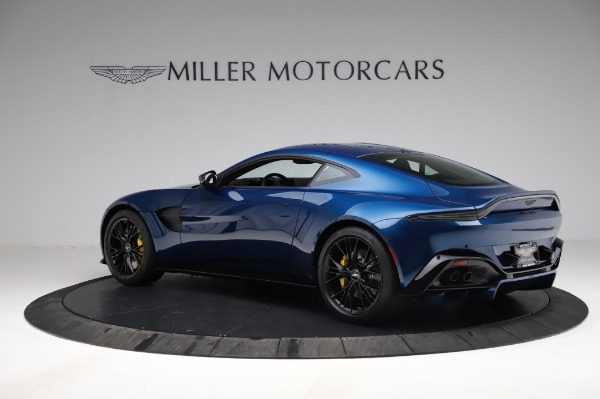 New 2021 Aston Martin Vantage Coupe for sale $179,386 at Rolls-Royce Motor Cars Greenwich in Greenwich CT 06830 3