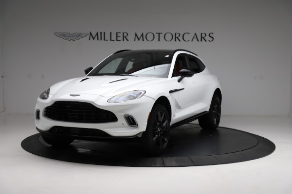 New 2021 Aston Martin DBX for sale $210,386 at Rolls-Royce Motor Cars Greenwich in Greenwich CT 06830 13