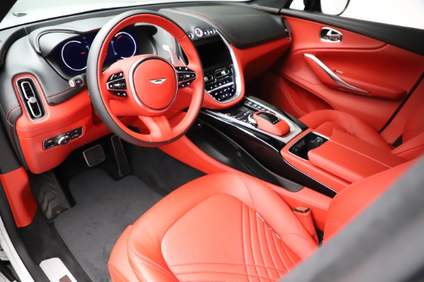 New 2021 Aston Martin DBX for sale $210,386 at Rolls-Royce Motor Cars Greenwich in Greenwich CT 06830 14