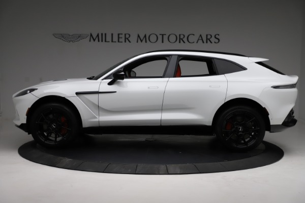 New 2021 Aston Martin DBX for sale $210,386 at Rolls-Royce Motor Cars Greenwich in Greenwich CT 06830 2