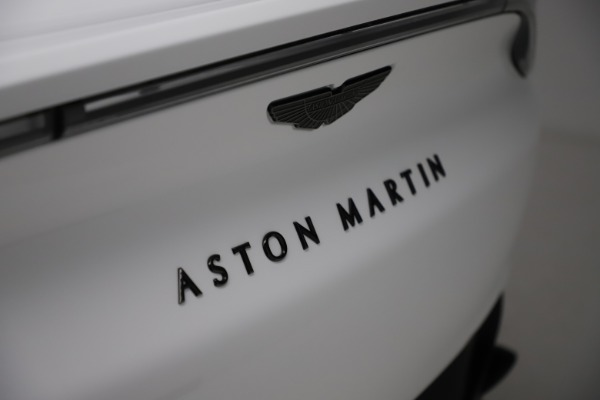 New 2021 Aston Martin DBX for sale $210,386 at Rolls-Royce Motor Cars Greenwich in Greenwich CT 06830 24