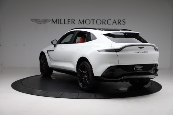 New 2021 Aston Martin DBX for sale $210,386 at Rolls-Royce Motor Cars Greenwich in Greenwich CT 06830 4