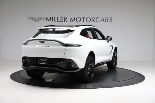 New 2021 Aston Martin DBX for sale $210,386 at Rolls-Royce Motor Cars Greenwich in Greenwich CT 06830 6