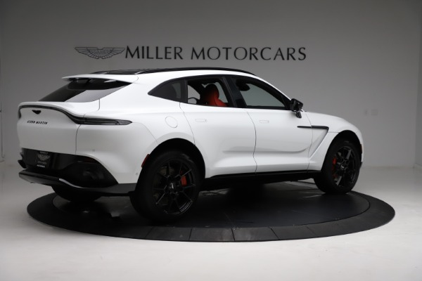 New 2021 Aston Martin DBX for sale $210,386 at Rolls-Royce Motor Cars Greenwich in Greenwich CT 06830 7