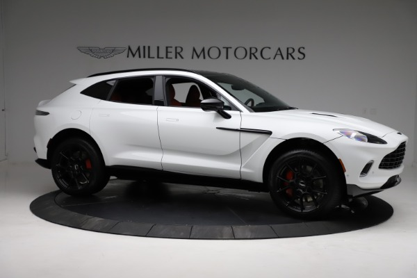New 2021 Aston Martin DBX for sale $210,386 at Rolls-Royce Motor Cars Greenwich in Greenwich CT 06830 9