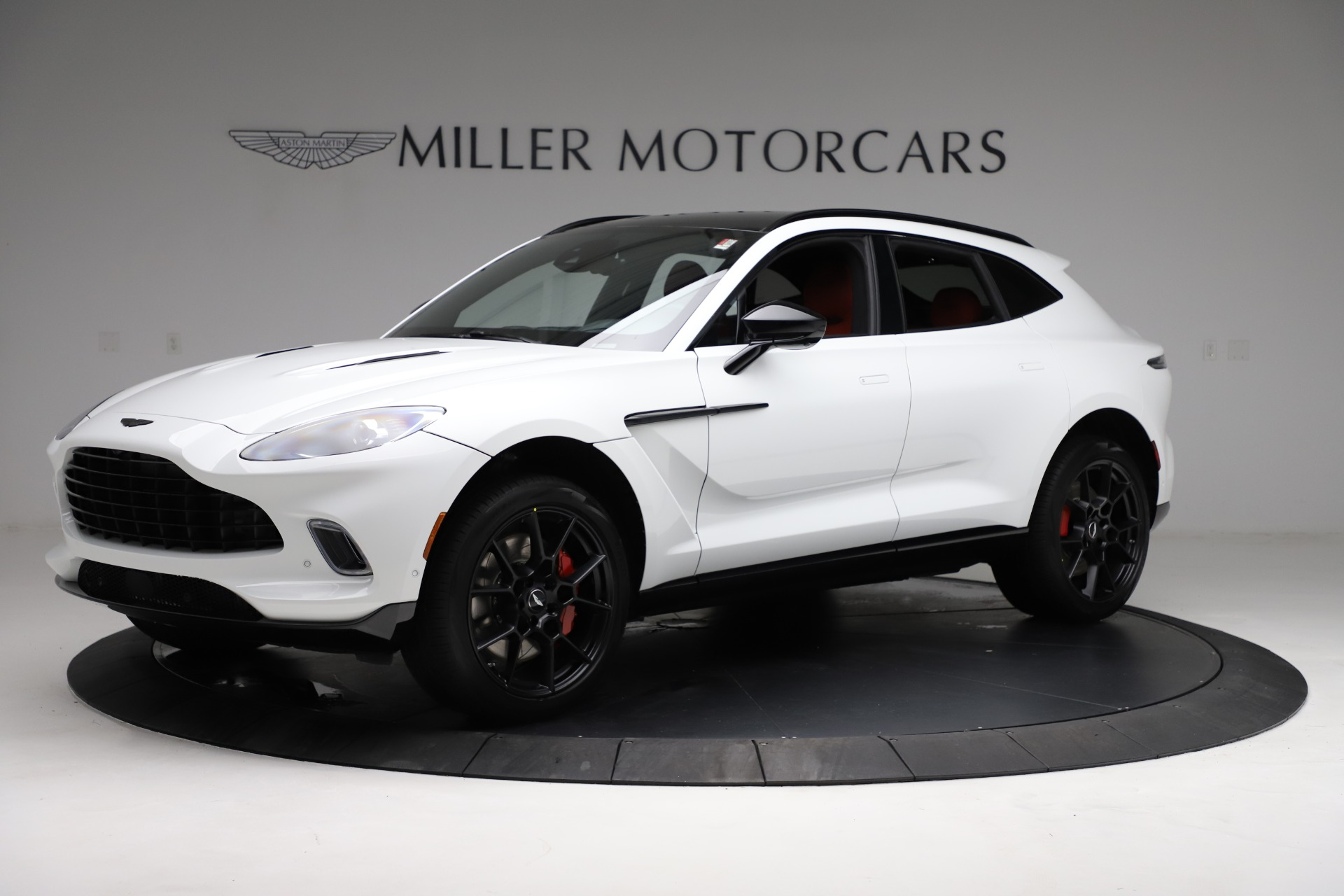 New 2021 Aston Martin DBX for sale $210,386 at Rolls-Royce Motor Cars Greenwich in Greenwich CT 06830 1