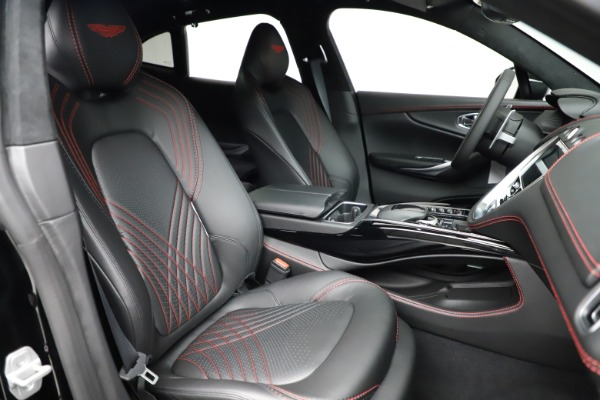 New 2021 Aston Martin DBX for sale $206,286 at Rolls-Royce Motor Cars Greenwich in Greenwich CT 06830 21