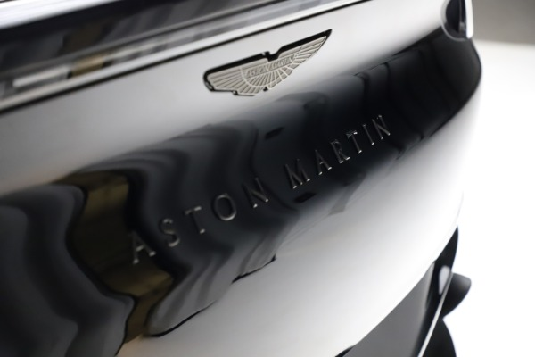 New 2021 Aston Martin DBX for sale $206,286 at Rolls-Royce Motor Cars Greenwich in Greenwich CT 06830 23