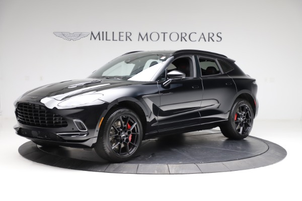 New 2021 Aston Martin DBX for sale $206,286 at Rolls-Royce Motor Cars Greenwich in Greenwich CT 06830 1