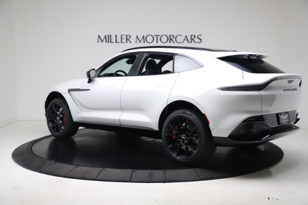 New 2021 Aston Martin DBX for sale $206,286 at Rolls-Royce Motor Cars Greenwich in Greenwich CT 06830 3