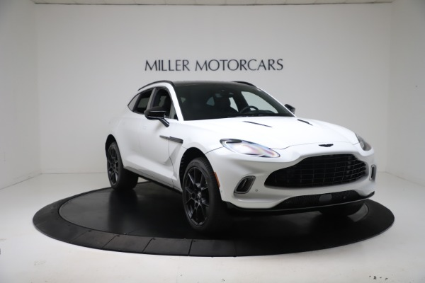 New 2021 Aston Martin DBX for sale $206,286 at Rolls-Royce Motor Cars Greenwich in Greenwich CT 06830 9
