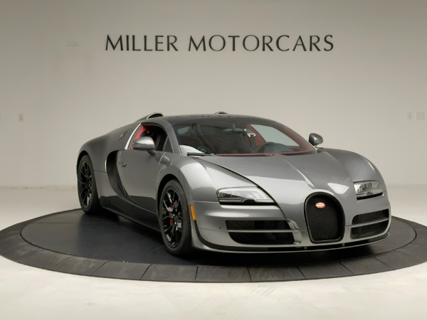 Used 2013 Bugatti Veyron 16.4 Grand Sport Vitesse for sale Call for price at Rolls-Royce Motor Cars Greenwich in Greenwich CT 06830 19
